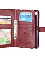 cheap -Case For Sony Xperia Z5 Sony Xperia Z3 Sony Xperia M4 Aqua Sony Xperia Z5 Compact Other Sony Xperia Z5 Xperia Z3 Sony Case Card Holder