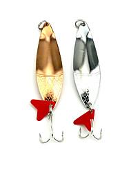 """5 Stück Angelköder Löffel Metallköder Zufällige Farben g/Unze,85mm mm/3-5/16"""" Zoll,Feder MetalSeefischerei Fischen im Süßwasser Andere"""