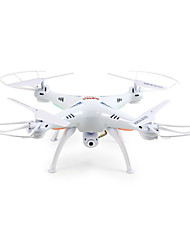 cheap -RC Drone SYMA X5SW 4CH 6 Axis 2.4G With 2.0MP HD Camera RC Quadcopter FPV / LED Lights / Headless Mode Remote Controller / Transmmitter /