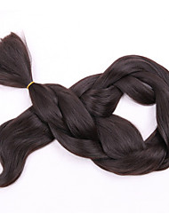 "cheap -1 Piece 36""  Brown Jumbo Hair Braid Extensions Kanekalon 80-100g/pc gram Hair Braids"