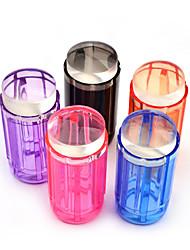 Недорогие -конфеты цвет 2.8cm ясно желе силикона ногтей Стампер скребок комплект для ногтей дизайн печати штамповочного инструмента для ногтей