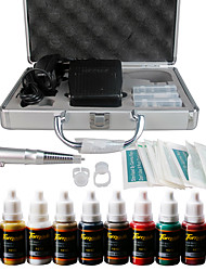cheap -Solong Tattoo Permanent Makeup Kit Tattoo Pen Eyebrow Lip Machine Set 10 Makeup Inks EK111-2