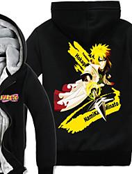 Inspiriert von Naruto Naruto Uzumaki Anime Cosplay Kostüme Cosplay Hoodies Druck Langarm Top Für Mann