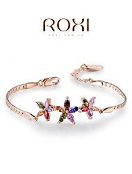 Bracelet Chaînes & Bracelets Charmes pour Bracelets Cristal Alliage Autres Original Mode Mariage Soirée Quotidien Bijoux Cadeau Doré,1pc