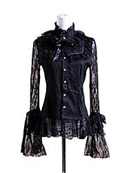 cheap -Sweet Lolita Dress Princess Punk Lace Women's Blouse/Shirt Cosplay Poet Long Sleeves