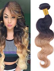 Nuance Brasiliansk hår Bølget 1 Stykke hår vævninger
