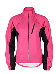 cheap -TASDAN Women's Cycling Jacket Purple / Yellow / Pink Patchwork Bike Windbreaker / Jacket / Top Waterproof, Breathable, Reflective Strips