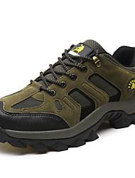 abordables -Homme Chaussures Tulle Printemps Eté Automne Confort Randonnée pour De plein air Gris Marron Vert foncé