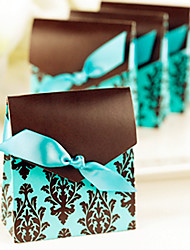 cheap -Pyramid Card Paper Favor Holder With Favor Boxes Favor Bags Gift Boxes Cookie Bags-12