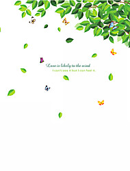 cheap -Landscape Animals Wall Stickers Plane Wall Stickers Fridge Stickers, Vinyl Home Decoration Wall Decal Wall Decoration