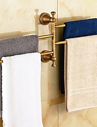 cheap -Towel Bar Antique Brass 1 pc - Hotel bath 4-towel bar