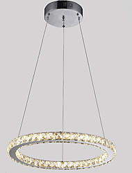 "cheap -Crystal Chandeliers Ceiling Pendant Light Lamps Fixtures for Hotel Cafe with D15.75"" CE FCC ROHS"