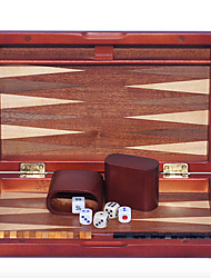 cheap -9 Inches Wooden Chess Backgammon Baccarat Spend Pear Surface Solid Wood Dice Cup Acrylic Dice