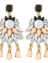cheap -Women's Drop Earrings Fashion Luxury European Synthetic Gemstones Resin Alloy Jewelry For Wedding Party Daily Casual