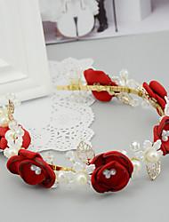 economico -copricapo in lega di resina di perle di madreperla stile classico femminile