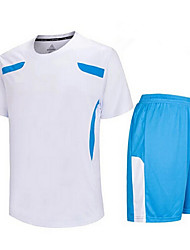 cheap -Others Men's Short Sleeve Soccer Clothing Sets/Suits Breathable / Quick Dry / Wicking Others Fitness  / Running