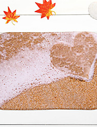 "cheap -Hot Sale New Designed Coral Fleece Material Non-Slip Rectangle Mat W16"" x L24"""