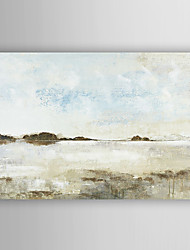 ručně malované olejomalba krajina samota moře s nataženém rámem 7 stěny arts®