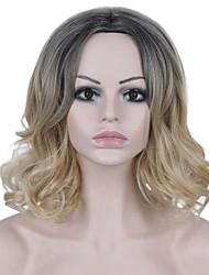 Ženy Vlnité Ombre vlasy Umělé vlasy Bez krytky paruky