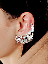 cheap -Lady's Alloy Rhinestone Ear Jewelry Earcuffs for Lady Party Casual