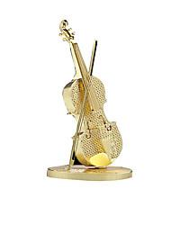 DIY KIT 3D Puzzles Jigsaw Puzzle Metal Puzzles Toy Instruments Toys Violin Musical Instruments 3D DIY Pieces