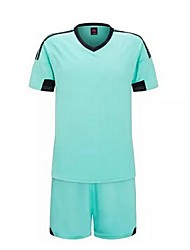 Others Kid's Short Sleeve Soccer Clothing Sets/Suits Breathable / Quick Dry  / Leisure Sports / Football / Running