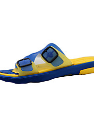 Men's Slippers & Flip-Flops Spring / Summer / Fall Comfort Silicone Casual Black / Blue / Brown / Yellow / Red Walking
