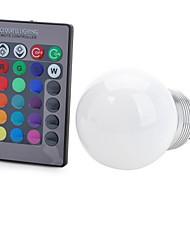 E26/E27 LED Smart Bulbs T 1 COB 100-200 lm RGB NIL K Remote-Controlled Decorative AC 85-265 V