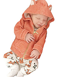 Boy's Cotton / Polyester Hoodie & Sweatshirt / Down & Cotton Padded,Winter / Spring / Fall Solid