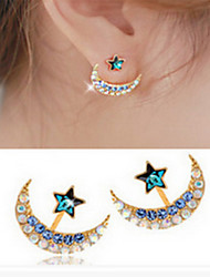 cheap -Women's Star Imitation Diamond Stud Earrings - Fashion Star For Daily Casual