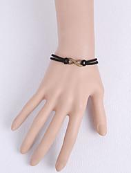 cheap -Women's Ring Bracelet - Lace Flower Unique Design, Gothic, Fashion Bracelet Black For Party / Daily / Casual