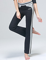 cheap -Yoga Pants Pants Wicking Natural Stretchy Sports Wear Gray / Black / Purple Women's Others Yoga / Fitness