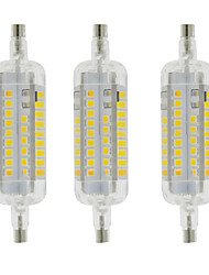 cheap -4W R7S LED Corn Lights T 60 leds SMD 2835 Waterproof Decorative Warm White Cold White 350-400lm 3000-6500K AC 220-240V