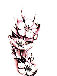 cheap -3D Tattoo Sticker Body Art Waterproof Temporary Tattoos Beautiful Rose Tattoo Sticker Wholesale