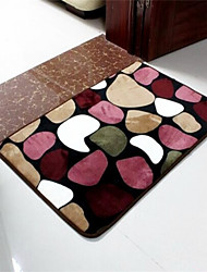 """Casual Style Coral Velvet Material Thickened Non-Slip Mat W16"""" x L24"""""""