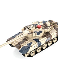 cheap -Remote Control Against Tanks,The Military Parade Tank Model Boy Toy - Russia T90 Single