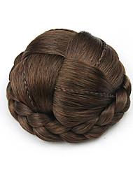 crespi bruni ricci Europe Small capello umano senza cappuccio chignons parrucche 2/30