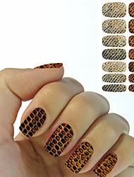 tanie -Nail Art Nail Sticker Folie transferowe Woda