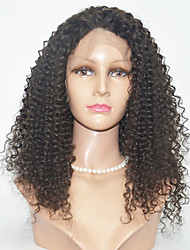 20-24inch  Human Hair Lace Wigs Kinky Curl Lace Front Hair Wigs
