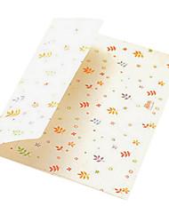 3 bande dessinée sac de stockage de carte d'enveloppe de couleur (modèle aléatoire)