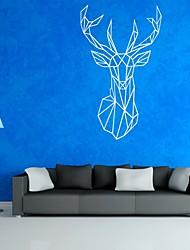 Animais / Desenho Animado / Abstracto Wall Stickers Autocolantes de Aviões para Parede,PVC M:42*70cm/L:56*94cm