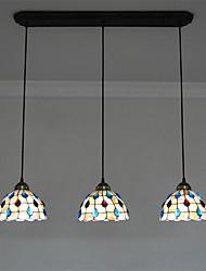 Tiffany Vedhæng Lys Til Stue Soveværelse Køkken Spisestue Læseværelse/Kontor Indgang Spillerum Entré Pære ikke Inkluderet