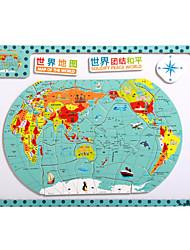 Недорогие -детские мультфильм головоломки магнитные деревянные головоломки игрушки туба-карта Китая