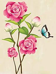 Animali / Botanica / Natura morta / Moda / Floreale / Tempo libero Adesivi murali Adesivi aereo da parete,PVC 70*50*0.1