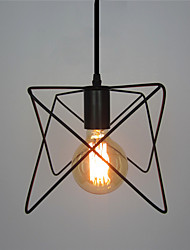 cheap -Retro Contracted Wrought Iron Birdcage Pendant Lights Restaurant,Cafe ,Game Room,Garage light Fixture