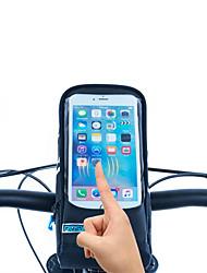 economico -ROSWHEEL Sacca da manubrio bici Bag Cell Phone 5.7 pollice Zip impermeabile Indossabile Antiumidità Resistente agli urti Schermo touch