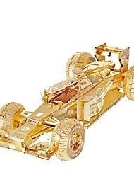 Недорогие -Игрушечные машинки 3D пазлы Пазлы Металлические пазлы Гоночная машинка Игрушки Автомобиль 3D Своими руками Металл Куски
