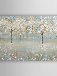 cheap -Hand Painted Oil Painting Landscape Cherry Blossom Tree with Stretched Frame 7 Wall Arts®