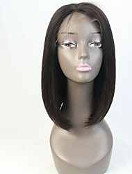 Glueless Virgin Hair Full Lace Human Hair Wigs Bob for Black Woman Short Cut Bob Wig Instock