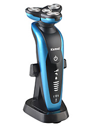 Недорогие -Электробритва Усы и бороды Электрический водонепроницаемый Влажное и сухое бритье Неприменимо Kemei